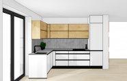 Alpská bílá kuchyň