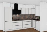 kuchyň, kuchyně na míru, matná kuchyň, výroba kuchyní